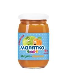 Пюре Малятко Яблоко Абрикос 180 г