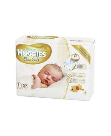 Подгузники Huggies Elite Soft Small Размер 1 (3-5 кг) 25 шт