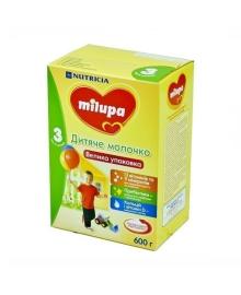 Детское молочко Milupa 3, 600 г
