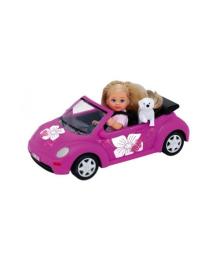 Кукла Steffi & Evi Love Эви и New Beetle