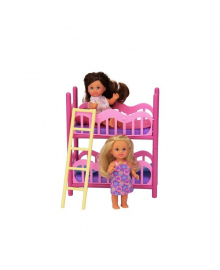 Набор Steffi & Evi Love Эви и двухэтажная кровать 5 733 847, 4006592538477