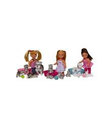 Кукла Steffi & Evi Love Эви с животными (в ассорт.)