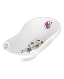 Ванночка Prima Baby Hippo белая