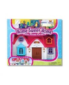 Кукольный домик, (с мебелью)