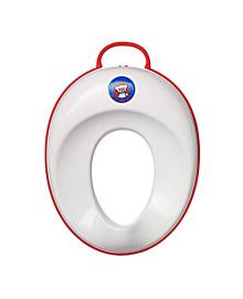 Сидение для унитаза, белое с красным Baby Bjorn 58024, 7317680580245