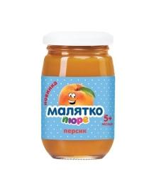Пюре Малятко Персик 180 г