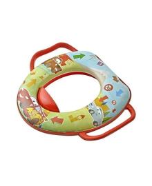 Детская мягкая накладка на унитаз Prima Baby Cars