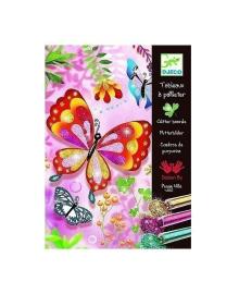 Художественный комплект Блестящие бабочки