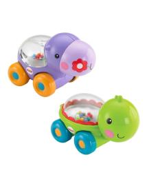 Игрушка-каталка Черепашка (Бегемотик) с шариками