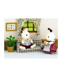 """Игровой набор """"Отец Шоколадного Кролика на диване"""" Sylvanian Families 2201"""