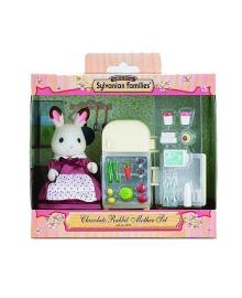 """Игровой набор """"Мама Шоколадного Кролика возле холодильника"""" Sylvanian Families 2202"""