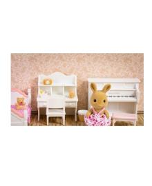 """Игровой набор """"Спальня для девочки и Сестра Кролика"""" Sylvanian Families 1701"""
