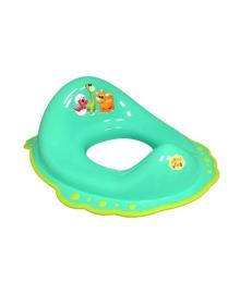 Сиденье на унитаз Maltex Baby Дино c нескользящими резинками Салатовое