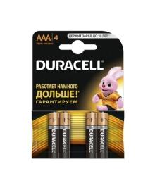 Батарейка Duracell Basic, AAA, MN2400, KPN, LR03