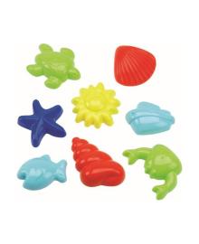 Набор формочек для песка Ecoiffier Подводный мир  8 шт. (в ассорт.) 630, 3280250006305