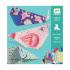 Художественный комплект оригами Большие животные Djeco DJ08776, 3070900087767