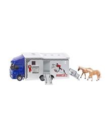Модель Siku Грузовик для перевозки лошадей 1:50
