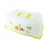 Подставка Maltex Baby Дино с нескользящими резинками Белая 1544, 5903067001544