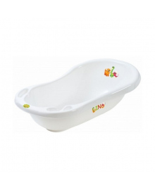 Ванна Maltex Baby Дино Белая 100 см 6159, 5903067016159