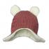 Шапочка BetiS Happy baby, с ушками, махра, р. 74, красный (27076504) Бетіс, 2941060103509