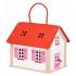 Кукольный домик Goki Дорожный с ручкой (51780G), 4013594517805
