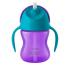 Чашка с трубочкой Philips Avent 9+, фиолетовый с бирюзовым, 210 мл (SCF796/02), 8710103781912