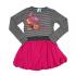 Платье Nano, трикотаж, р.128, малиновый (F1402-11 8)