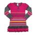 Платье Nano, трикотаж, р.116, малиновый с серым (F1402-10 6)