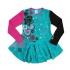 Платье Nano, трикотаж, р.92, бирюзовый (F1420-04 2)