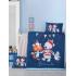 Комплект постельного белья LightHouse Winter, ранфорс, 150х100 см, темно-синий (35233), 2200000035233