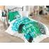 Комплект постельного белья Hobby Poplin Love Music, поплин, зеленый (32511_1,5), 8698499132511