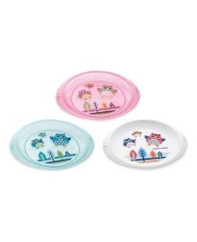 Тарелка пластиковая Canpol babies Совушка 270 мл (в ассорт) 4/406, 5903407044064