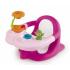 Стульчик для купания Smoby Cotoons, с игровой панелью, розовый (110616), 3032161106168