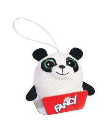 Мягкая игрушка-брелок Fancy Глазастик Панда 8 см