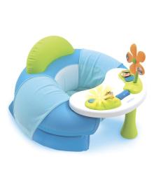 Детское кресло Smoby Cotoons с игровой панелью голубого цвета 110210, 3032161102108