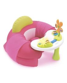 Детское кресло Smoby Cotoons с игровой панелью розового цвета 110211, 3032161102115