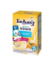 Молочная тыквенно-рисовая каша Беллакт, 200 г