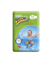 Подгузники-трусики Huggies Little Swimmers Small Размер 3-4 (7-15 кг), 12 шт
