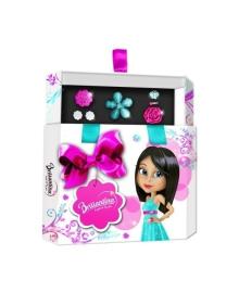 Подарочный набор Briliantina Hex Box голубой 51110