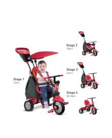 Велосипед Smart Trike Glow 4в1, красный 6401500, 4897025794962