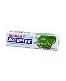 Зубная паста семь трав Новый Жемчуг, 100 мл Невская косметика 1272/17127, 4600697171272