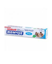 Зубная паста с фтором Новый Жемчуг, 75 мл Невская косметика 1173