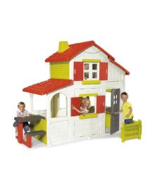 Двухэтажный дом с кухней-барбекю Smoby 320023