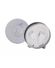 Набор для создания отпечатка ручки или ножки малыша Baby Art Магическая коробочка Круглая