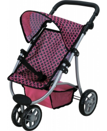 Прогулочная коляска для кукол Catrin Todsy 9671
