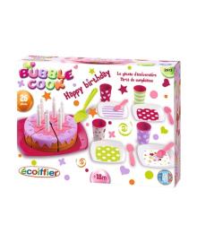 Игровой набор посуды Ecoiffier С днем рождения, 26 эл.