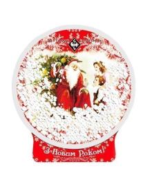 Подарок новогодний Житомирські Ласощі Шкатулка Дед Мороз 694 г, 4823103002520