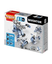 Конструктор Engino Inventor 4 в 1 Самолеты, 55 эл. 433, 5290001135565