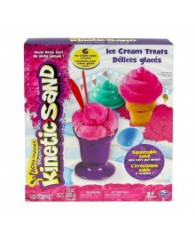 Кинетический песок KINETIC SAND ICE CREAM (цвет розовый) Wacky-Tivities 71417-1