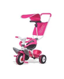 Велосипед 3-х колесный Smoby Baby Balade, розовый 444207